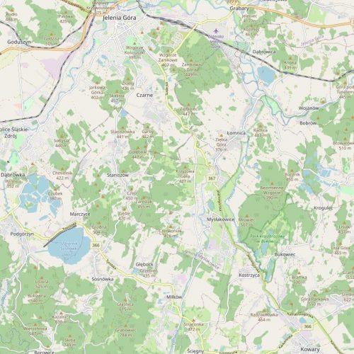 Mapa dostwy piw na wynos Sowiduch Restauracja Karpacz
